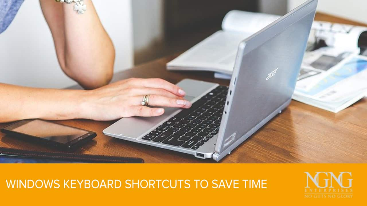 Windows Keyboard Shortcuts to Save Time