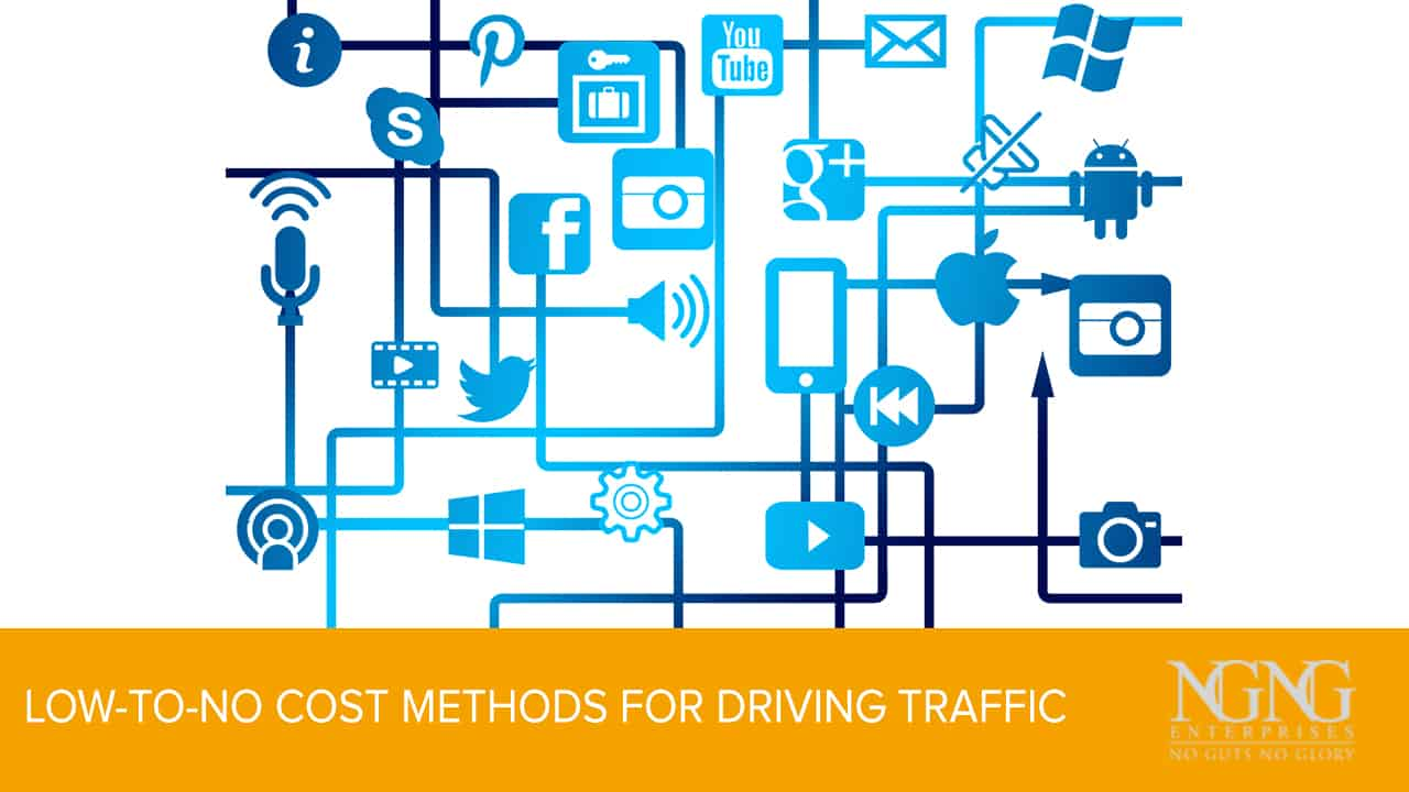 Low-to-No Cost Methods for Driving Traffic