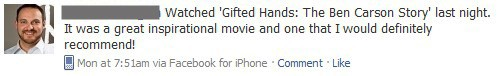 Facebook Use: Recommend Movies