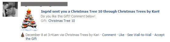 Facebook Use: Send Gifts