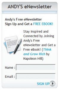 stay connected signup newsletter box