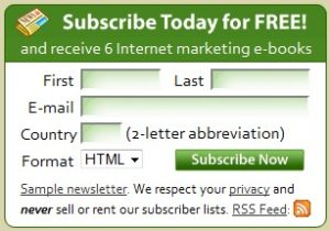 build email subscriber list with signup box on website