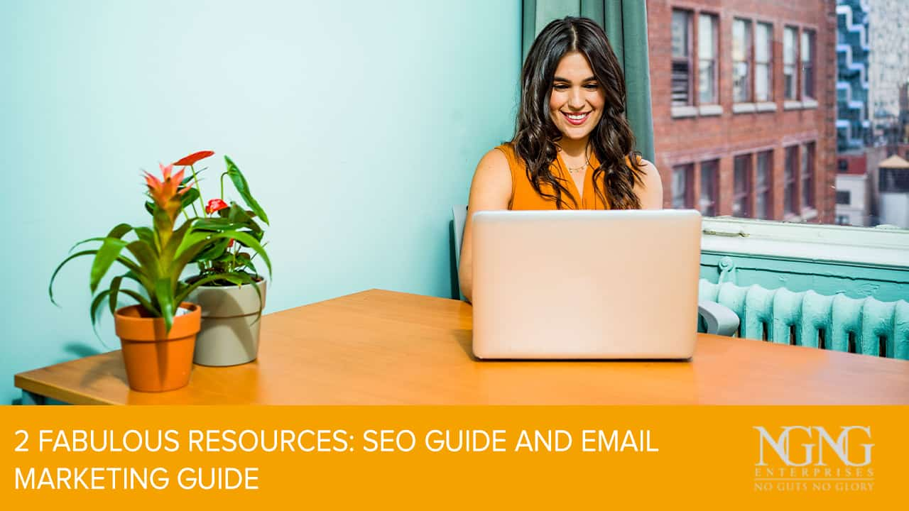 2 Fabulous Resources- SEO Guide and Email Marketing Guide