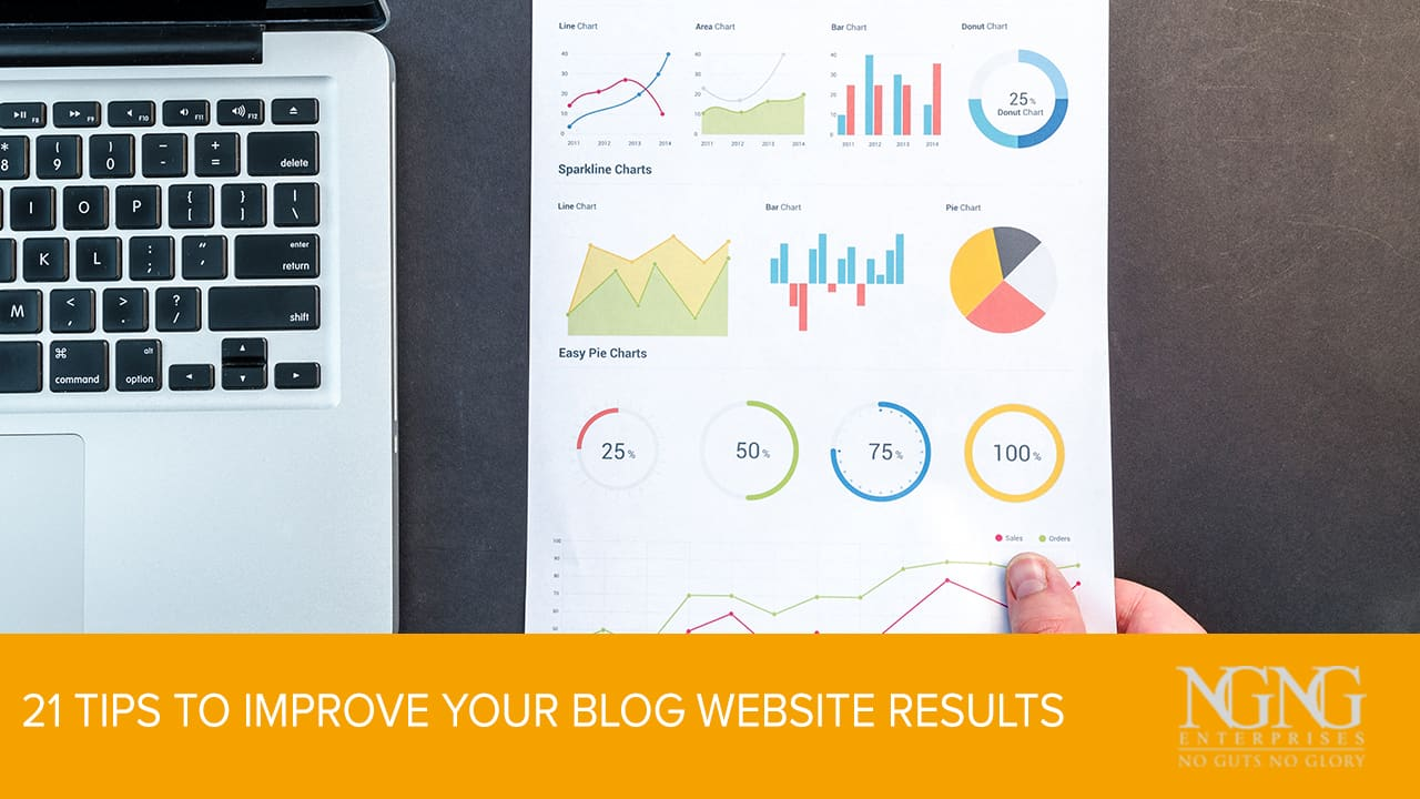 21 Tips to Improve Your Blog Website Results
