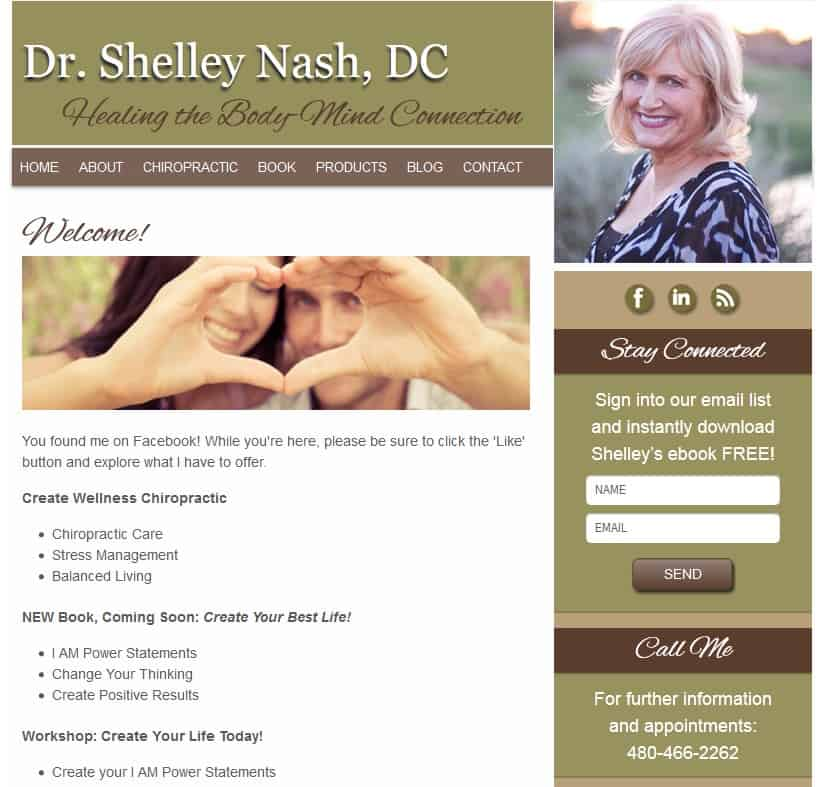 shelley-facebook-landing-page