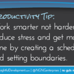 PRODUCTIVITY TIP: Work Smarter Not Harder