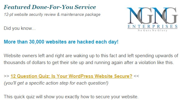 Is Your WordPress Website Secure Quiz