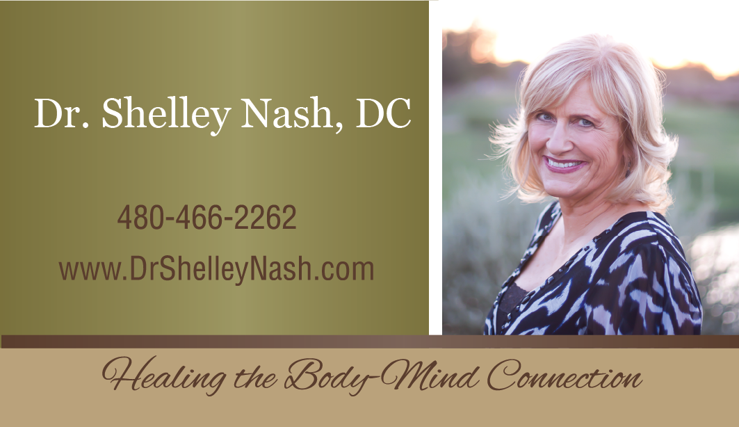 Business Card Design for Dr. Shelley Nash
