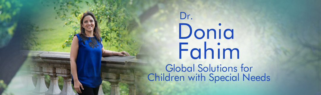 WordPress Custom-Designed Header for Dr Donia Fahim