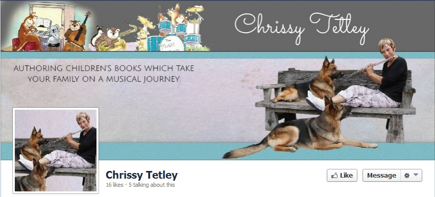 Facebook Cover Design for Chrissy Tetley