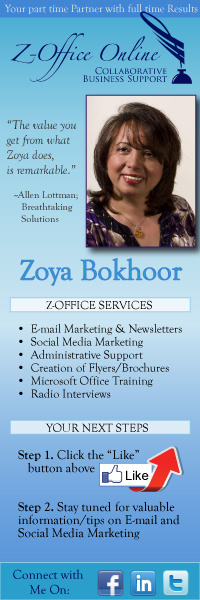 Facebook Profile Banner Design for Zoya Bokhoor