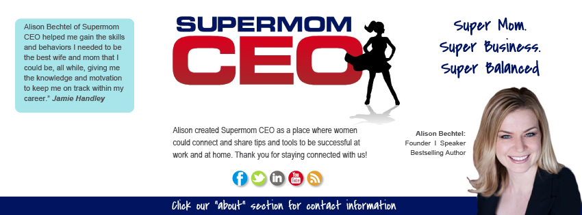 Facebook Cover Design for Supermom CEO