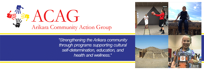 Facebook Cover Design for Arikara Community Action Group