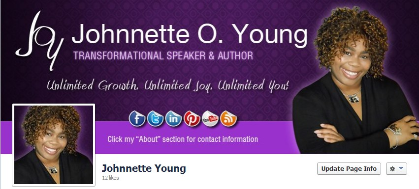 Facebook Cover Design for Johnnette Young