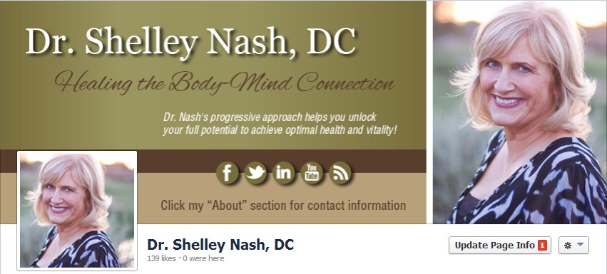 Facebook Cover Design for Shelley Nash
