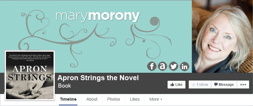 Facebook Cover Design for Mary Morony