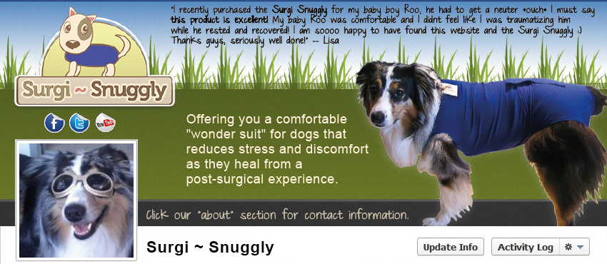 Facebook Cover Design for Surgi Snuggly