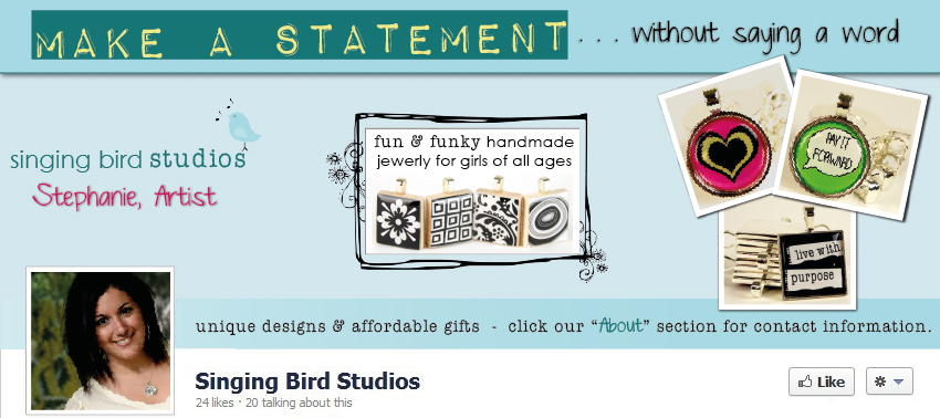 Facebook Cover Design for Singing Birds Studios