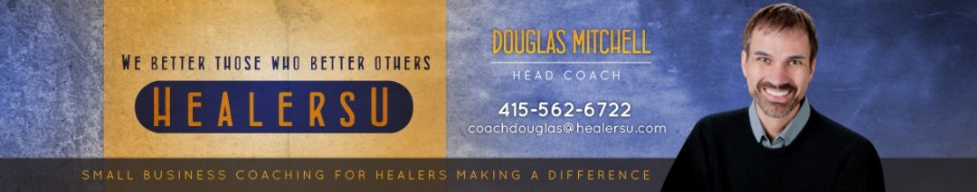 WordPress Custom-Designed Header for Douglas Mitchell