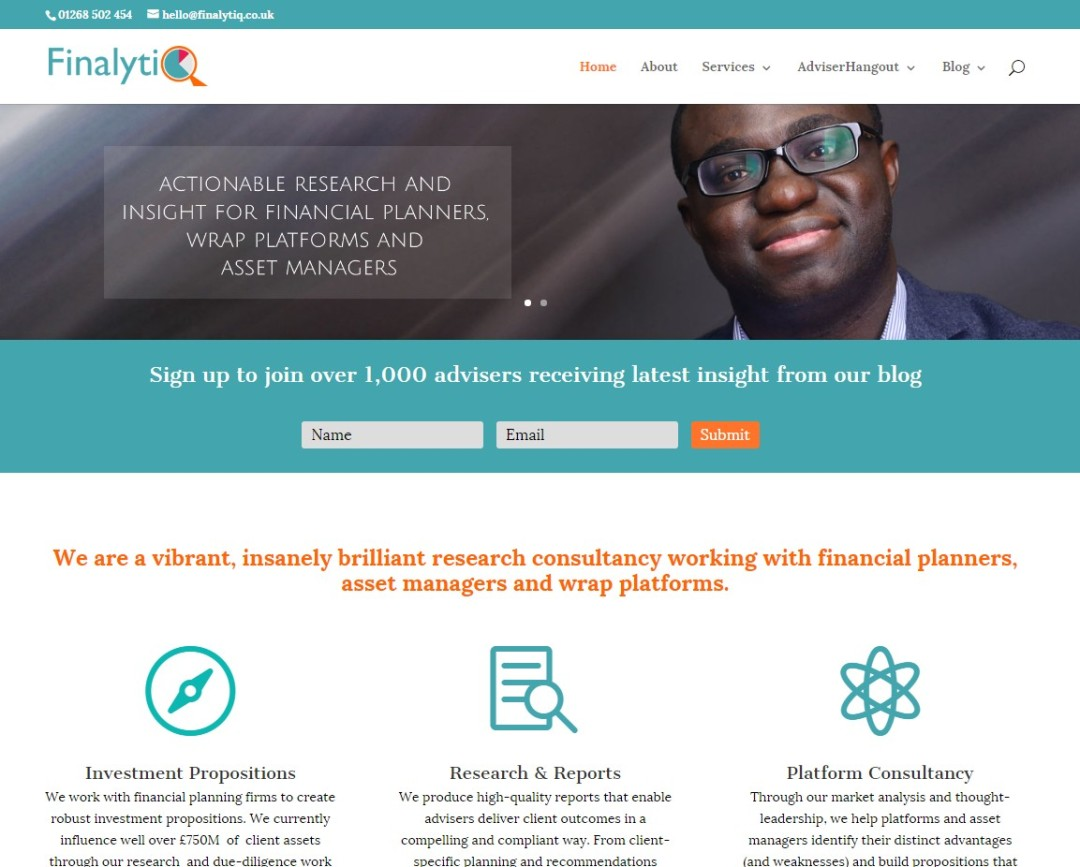 Pre-Made Theme Wordpress Website for Abraham Okusanya