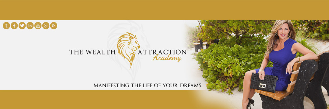 Twitter Cover Design for The Wealth Attraction Academy