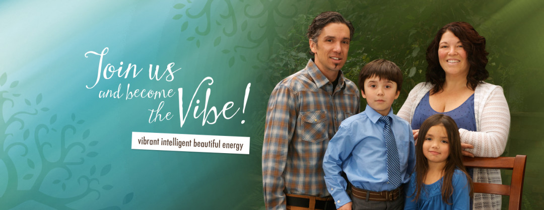 WordPress Custom-Designed Header for Green Vibes