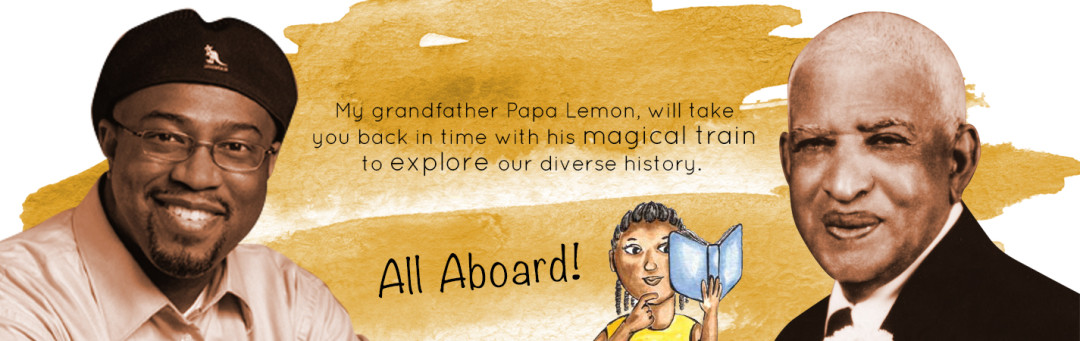 WordPress Custom-Designed Header for Papa Lemon