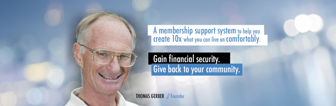 WordPress Custom-Designed Header for Thomas Gerber