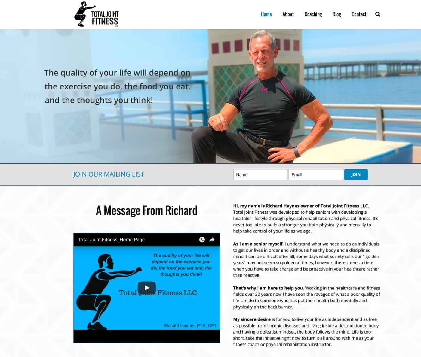 Online Fitness Trainer Seeks Help with Image and Branding