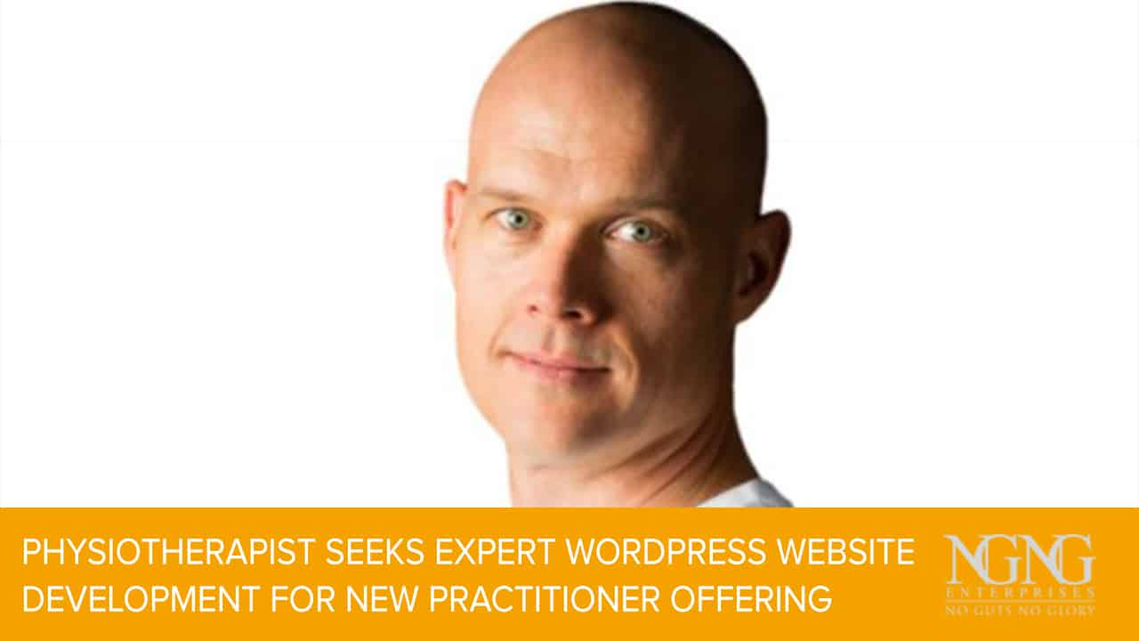 Physiotherapist Seeks Expert WordPress Website