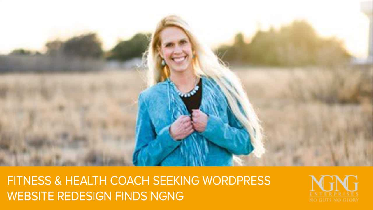 fitness and health coach