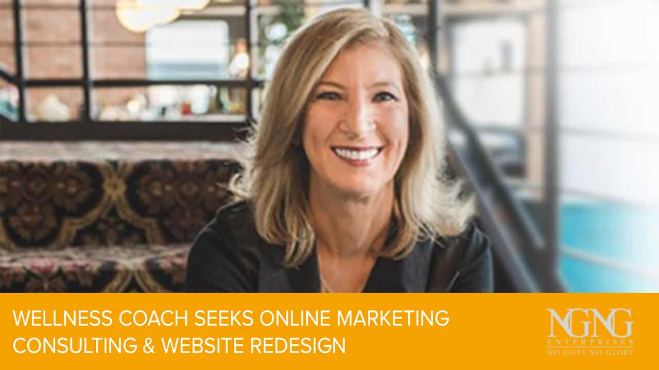 wellness coach seeks online marketing